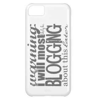 Warning: Blogging About This Later Cover For iPhone 5C