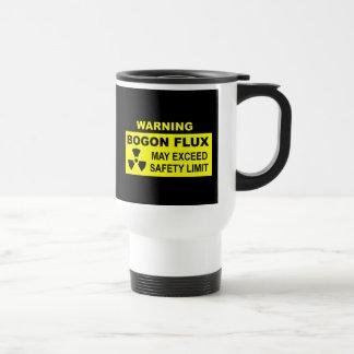 Warning: Bogon Flux Stainless Steel Travel Mug