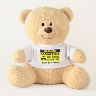 Warning: Bogon Flux Teddy Bear