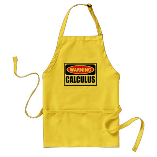 Warning CALCULUS Apron