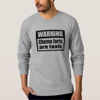 WARNING Chemo farts are toxic AA long sleeve T-Shirt