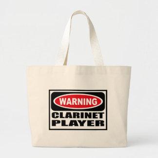 Warning CLARINET PLAYER Bag