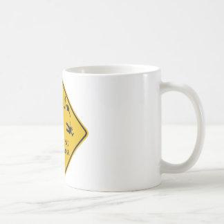 Warning Cliff Edge Mug