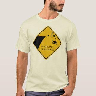 Warning Cliff Edge T-Shirt