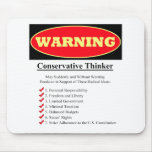 Warning: Conservative Thinker