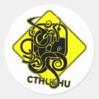 Warning: Cthulhu Stickers