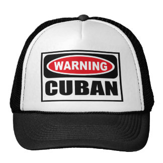 Warning CUBAN Hat