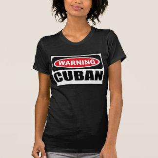 Warning CUBAN Women's Dark T-Shirt