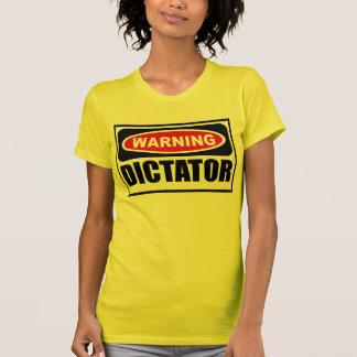Warning DICTATOR Women's T-Shirt