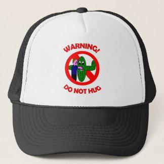 Warning! Do not hug Items Trucker Hat
