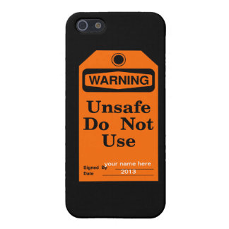 Warning do not use cover for iPhone 5/5S