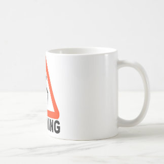 Warning - Elderly Crossing Basic White Mug