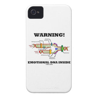 Warning! Emotional DNA Inside (DNA Replication) Case-Mate iPhone 4 Cases