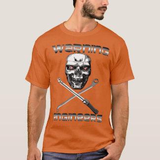 Warning Engineers T-Shirt