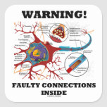 Warning! Faulty Connections Inside Neuron Synapse