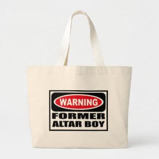 Warning FORMER ALTAR BOY Bag
