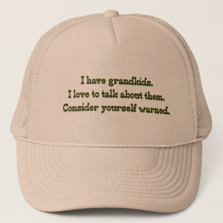 Warning from Grandparents Trucker Hat