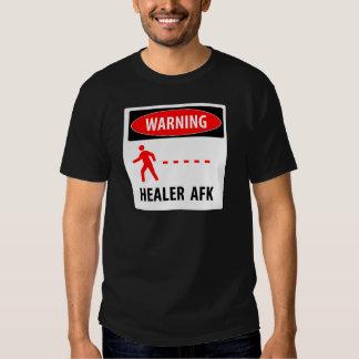 Warning healer AFK T-shirts