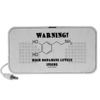 Warning! High Dopamine Levels Inside Portable Speakers