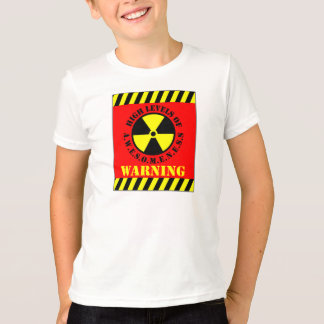 Warning High Levels Of Awesomeness T-Shirt