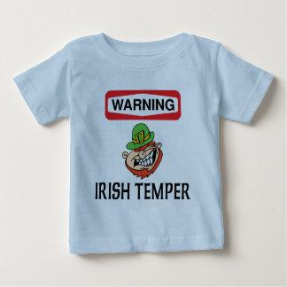 Warning Irish Temper Baby T-Shirt