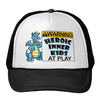 Warning! Kids at Play Cap