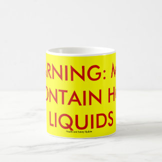 WARNING: MAY CONTAIN MAY CONTAIN HOT LIQUIDS mug