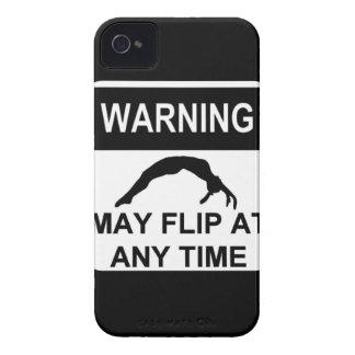 Warning may flip iPhone 4 cover