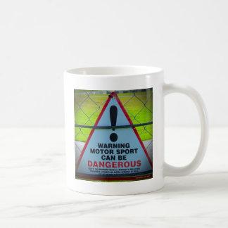 Warning - Motorsports Coffee Mug