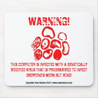 WARNING! MOUSE MAT