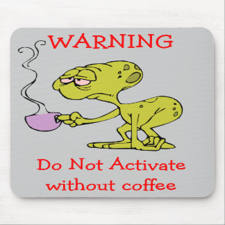 WARNING Mouse Pad