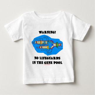 Warning! No Lifeguards In The Gene Pool Tee Shirt