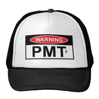Warning PMT Cap
