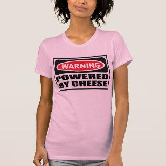 Warning POWERED BY CHEESE Women's T-Shirt