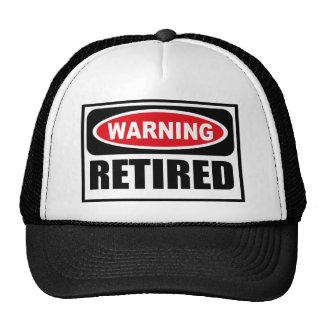 Warning RETIRED Hat