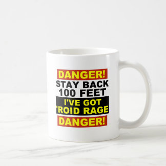 Warning Roid Range Coffee Mug