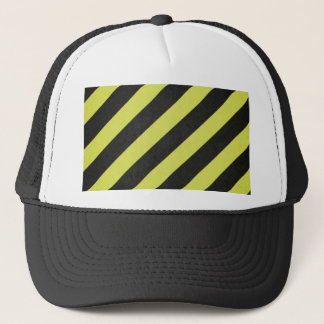 Warning Stripes Trucker Hat