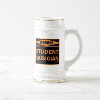Warning! Student Musician! Beer Steins