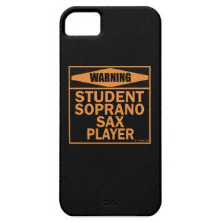 Warning! Student Soprano Sax Player! iPhone 5 Case
