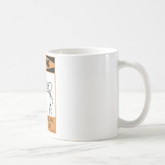 Warning Temperamental Harpist Basic White Mug