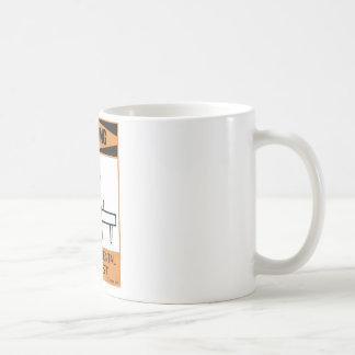 Warning Temperamental Pianist Coffee Mug