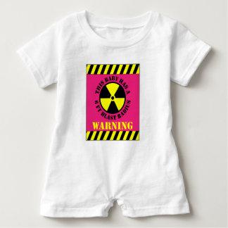 Warning This Baby Has A 6FT Blast Radius Baby Bodysuit