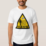 Warning This person may talk about reptiles Tee Shirts