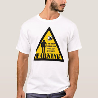 Warning this person may talk about snakes T-Shirt