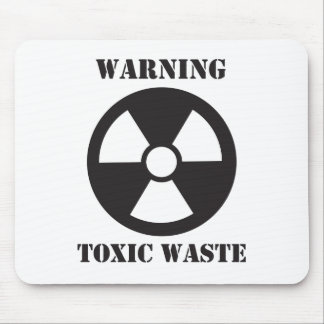 Warning - Toxic Waste Mouse Pad