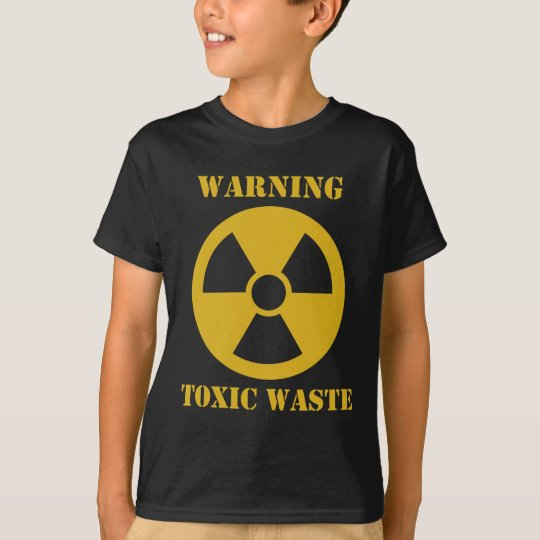 Warning - Toxic Waste T-Shirt