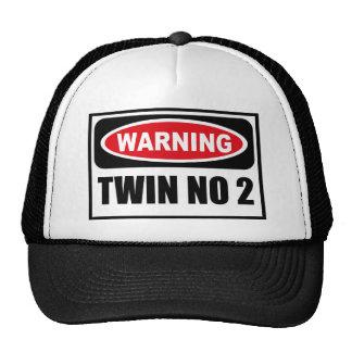 Warning TWIN NO 2 Hat