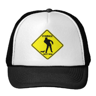 Warning: Zombies - Hat