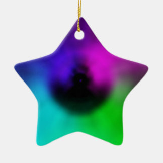 Warp Eye Ceramic Star Decoration