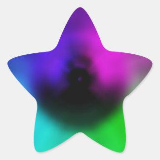 Warp Eye Star Sticker